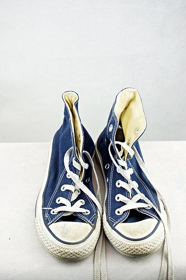 """""""Nachtblau!"""" - Converse blau"""