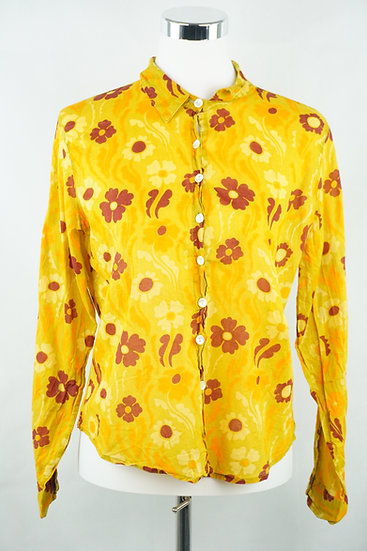 Austin Powers Gelbe Bluse