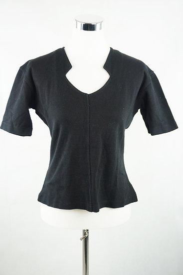 Eleganter Schnitt ! schwarze Bluse