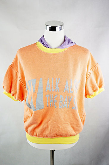 """Baywatch"" - T-Shirt orange/ gelb / lila"