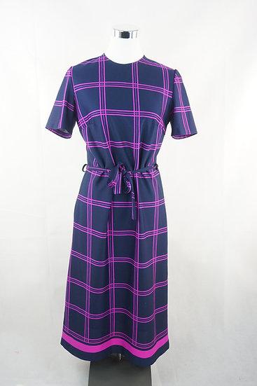 """Kleine Audrey Hepburn!""- Kleid lila/rosa"