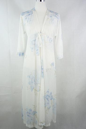 Sommer Prinzessin! Weißes Kleid mit Blumen
