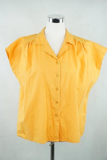 """""""EndlichSommer!"""" - gelbe Bluse"""