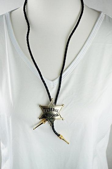 """""""Federal Marschall"""" - Bolo Krawatte"""