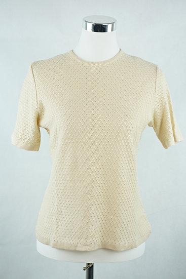 Beiger Pulli/ T-Shirt