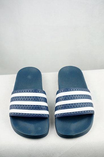 """""""Zeitlos!""""- Adidas Badelatschen blau/ weiß"""