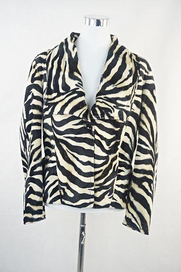 Keine Langwellige Jacke !  Zebramotiv mit Schößchen- sehr süß !