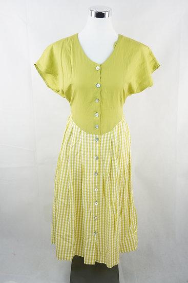 """Brandenburg Dirndl !""-  grünes Kleid"