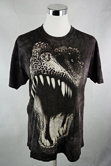 """""""Braver Dino!""""  T-Shirt mit Dinosaurier schwarz"""