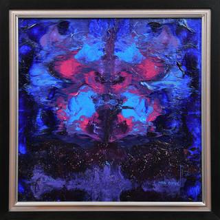 The spirit of the bear. Acrylic. 40x40