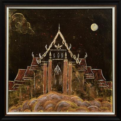 2018 Temple Acrylic 50 х 50 cm