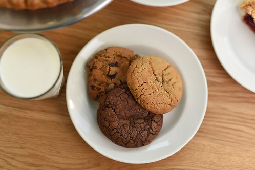 Dozen Salted Caramel Cookies