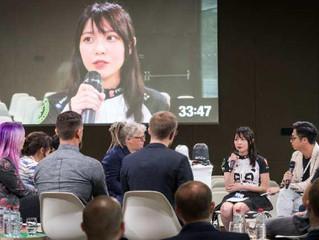 【電競熱潮】港電競女選手Deer獲邀 出席瑞士運動員圓桌論壇