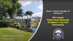 20th Annual Whitey Rose Memorial President's Cup Golf Tournament