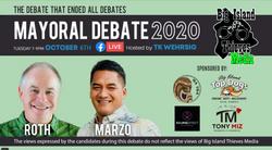 Big Island Thieves Mayoral Debate 2020