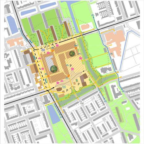Groningen - Masterplan Kloppend Hart Paddepoel