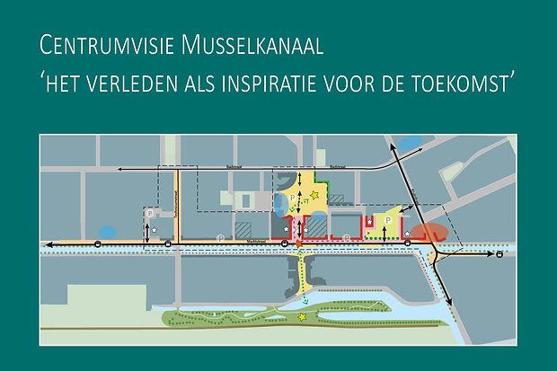 Centrumvisie Musselkanaal-voorkant boekj