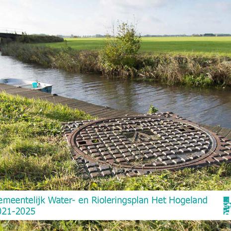 Gemeentelijk Water- en Rioleringsplan Het Hogeland