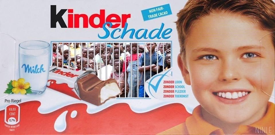 Protest Poster Kinder Arbeid