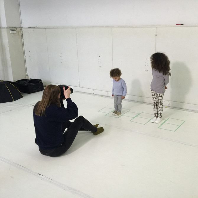 Spring Summer 2016 Shoot #1| On the set