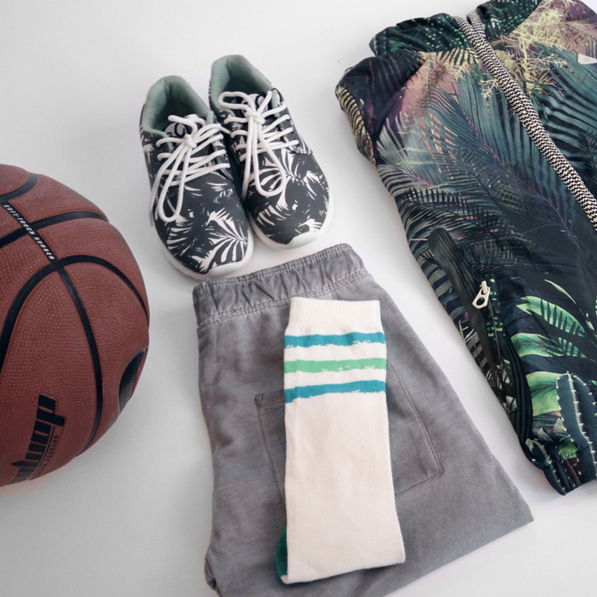 Let's Go Outside SS15 - Tropical Basketball