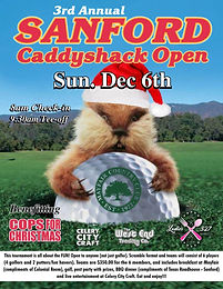 This tournament is all about the FUN! Open to anyone (not just golfers). Scramble format, and teams will consist of 6 players (4 golfers and 2 putters/fun havers).