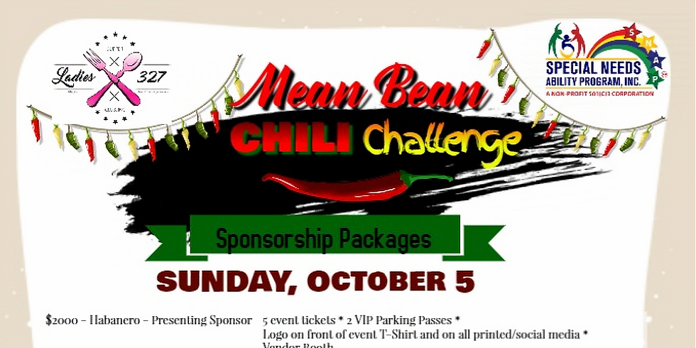 Be a Sponsor - Mean Bean Chili Challenge