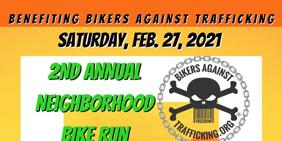 Bike Run to benefit Bikers Against Trafficking