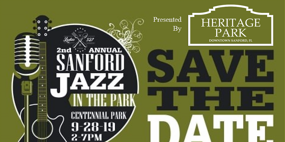 Be a Sponsor - Sanford Jazz in the Park