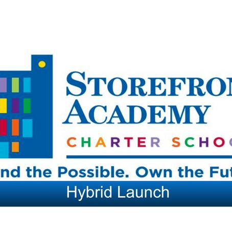 School Hybrid Launch - What does hybrid looks like?