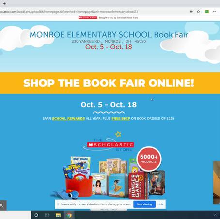 Virtual Book Fair Tour