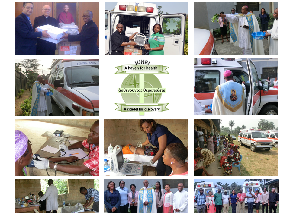 Inauguration of our Mobile Clinics and first Medical Outreach