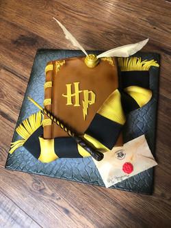 Harry Potter Book Cake
