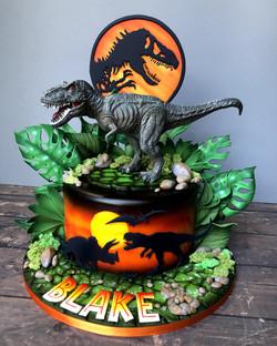 Jurassic Dino cake!