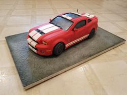Sculpted car cake