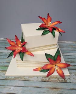 Tropical Square Cake