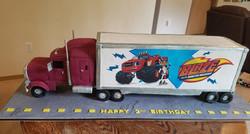 Giant 3 foot Semi truck
