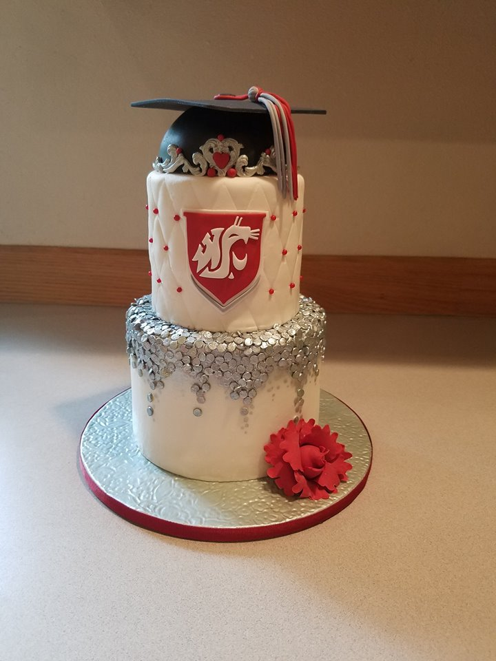 Cougars Themed Cake