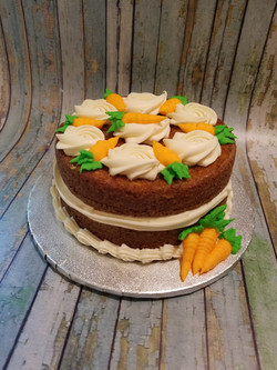 Pretty Carrot Cake