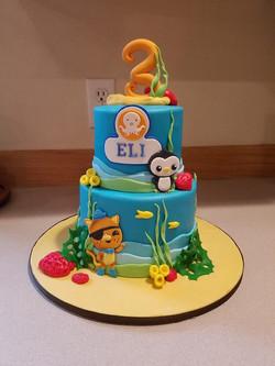Octonauts Undersea cake