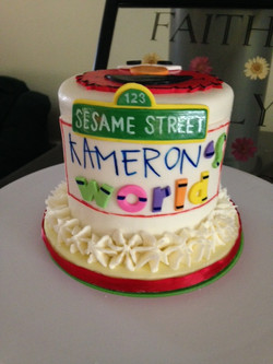 Detail of cake
