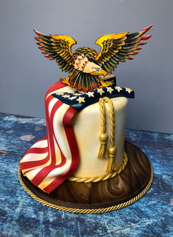 Sailor Jerry Inspired Cake