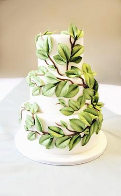 Leaf And Vine Cake
