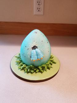 Dino Egg smash cake