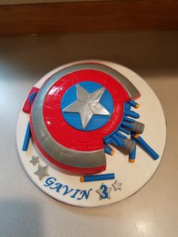 Captain America Nerf Shield