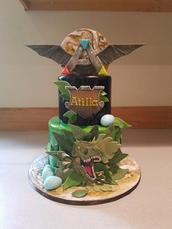 Ark themed cake