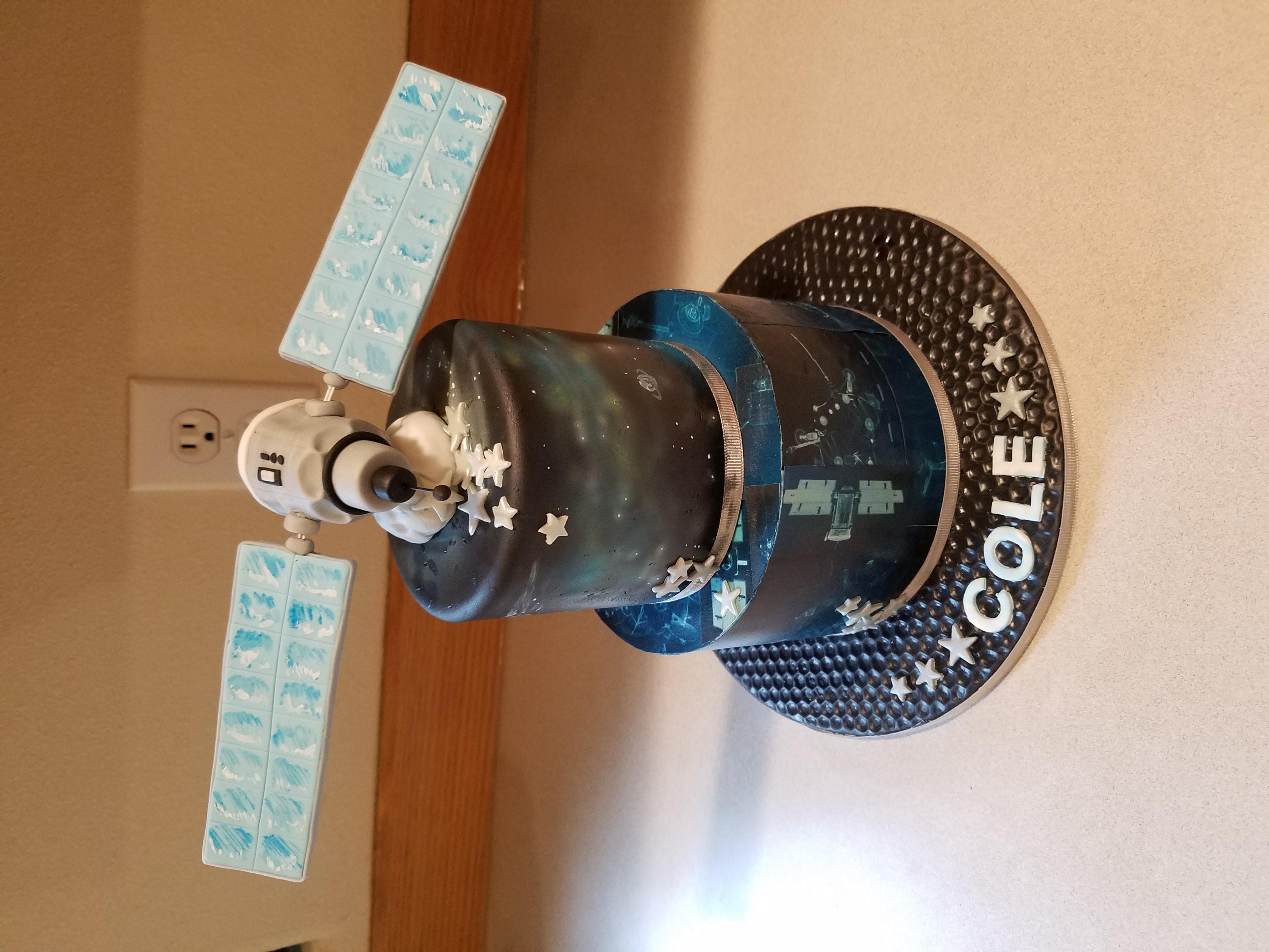 Satellite Cake