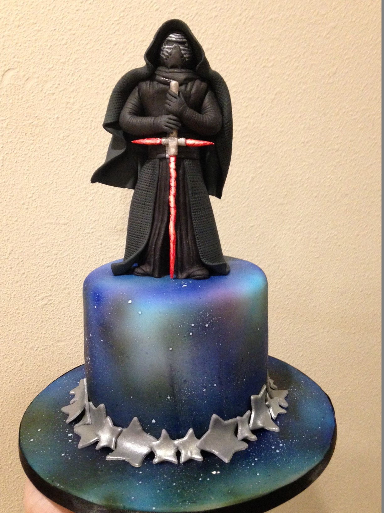 Kylo Ren Cake