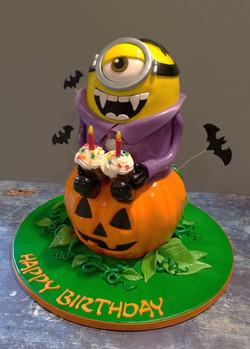 Halloween Minion Birthday