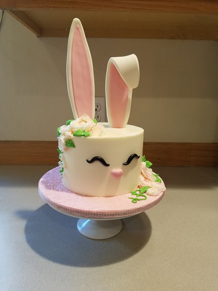 Cute Bunny cake contest